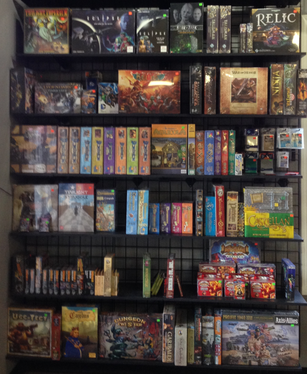 We have plenty of games from which to choose!