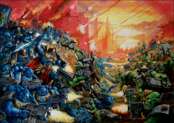 Warhammer and Warhammer 40K armies are available for purchase or special order.