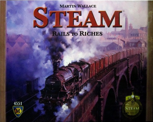 Steam: Rails to Riches